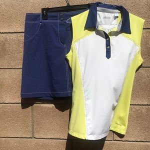 Cutter & Buck Annika golf outfit